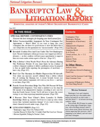 Bankruptcy Law & Litigation Report Magazine